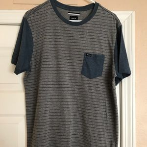 RVCA Striped Pocket T-shirt